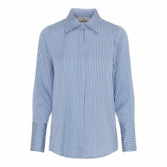 Karmamia Zoe Shirt Blue Stripe