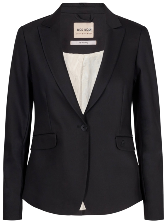 Blake Night Blazer Sort - Mos Mosh