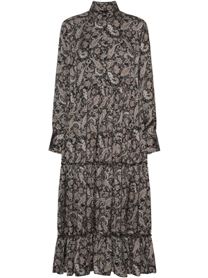 Corinne Dress, Earth Paisley
