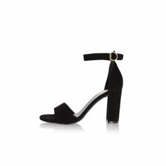 365e292d Billi Bi Black Suede 50 Sandal