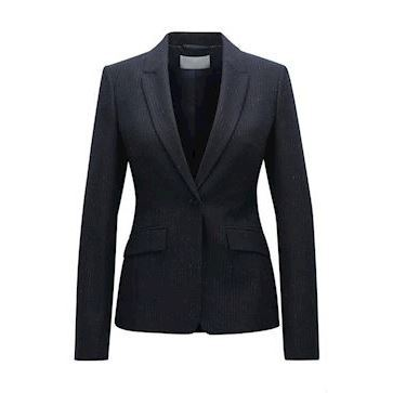 Boss Woman Blazer Regular fit virgin wool-blend