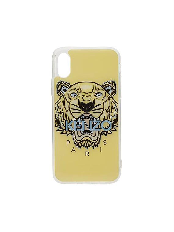 11af14f1cf Kenzo Iphone X plus Cover Tiger Yellow