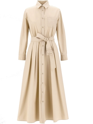 FAVILLA Dress, Sand - Max Mara Weekend