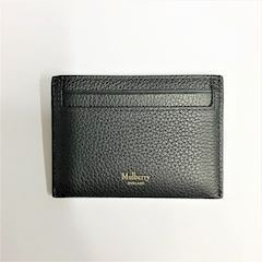 Mulberry Continental Credit Card Slip Black