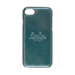 lala Berlin iPhone 8 cover Lacquer Green Metallic