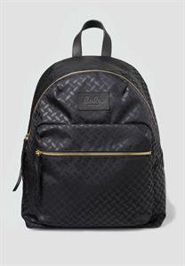 lala Berlin Backpack Selina Nylon Kufiya Classic Black