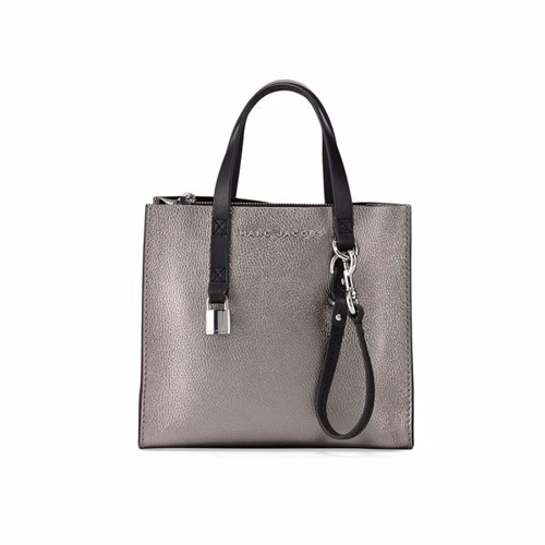 Marc Jacobs Mini Grind Taske Mercury/Metalic
