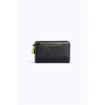 Marc Jacobs The Grind Compact Wallet Black