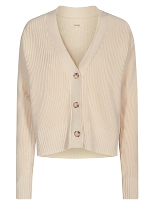 LR-MIKA 1 cardigan, Offwhite - Levete Room