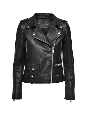 MDK Seattle Leather Jacket Black - K-115-017