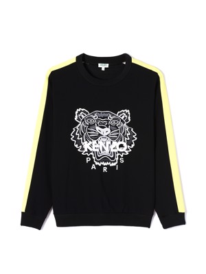 Kenzo Crepe Tiger Top Black F952TO0105AC-99