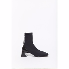 Kenzo K-Square Mid Heeled Boot Black F962BT005F55