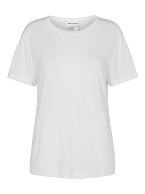 Acne Studios T-Shirt - Edeline Pink Label Optic White FN-WN-TSHI000190