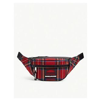 Marc Jacobs Tartan wool bumbag Red multi