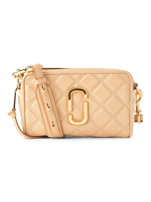 Marc Jacobs Taske - The Quilted Softshot 21 Beige M0015419-260
