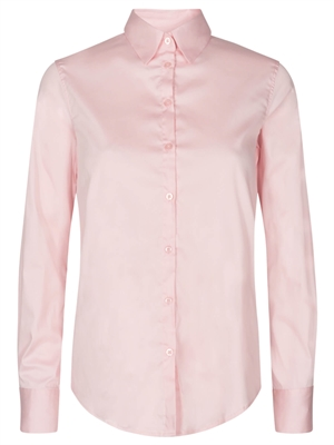 Martina Sustainable Shirt, Soft Rose - Mos Mosh