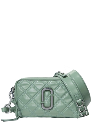 The Quilted Softshot 21 Taske Grøn - Marc Jacobs
