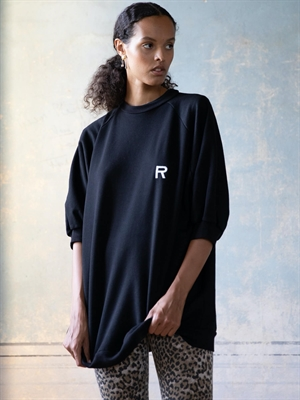 Ragdoll Super Oversized Sweatshirt, Sort