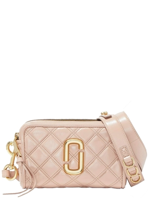 The Softshot 21 Quilted Taske Rosa - Marc Jacobs