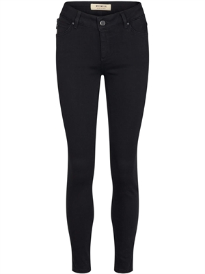 Victoria 7/8 Silk Touch Jeans, Sort